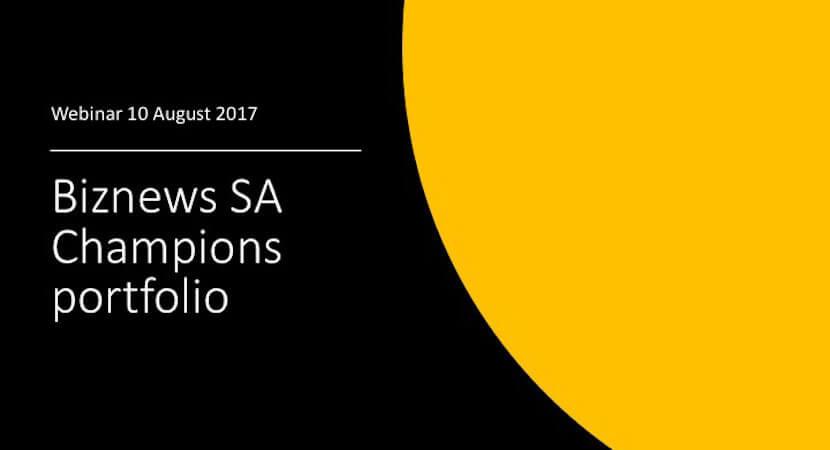 WEBINAR: SA Champions – Brait the laggard as Naspers, Discovery, Glencore shine