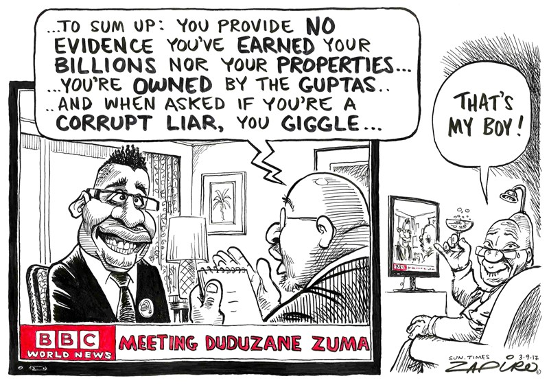 Move To Prosecute Zuma's Son