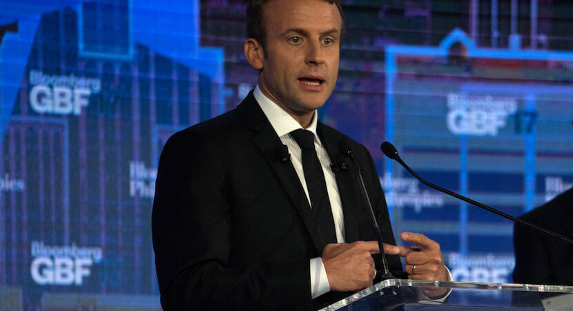 WORLDVIEW: Macron the Magnificent. At last, a pragmatic plan for African development.