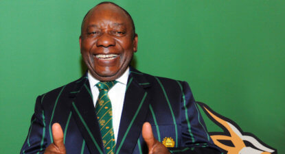 Ramaphosa heads Government delegation to back SA Rugby's 2023 World Cup bid