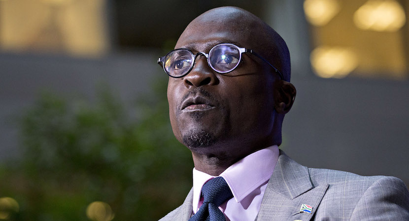 Home Affairs Minister Malusi Gigaba. Photographer: Andrew Harrer/Bloomberg via Getty Images