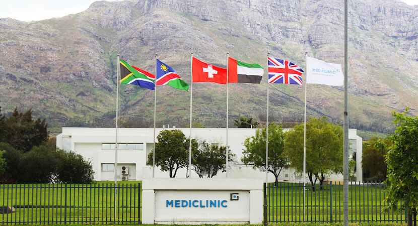 JSE rand hedge Mediclinic bumper offer for Spire rejected
