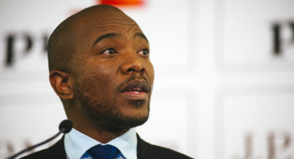 Mmusi Maimane: In the 21st century, corruption shouldn't be this easy.