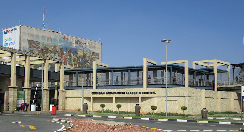 Surgeons for Little Lives receive funding for construction at Chris Hani Baragwanath Hospital