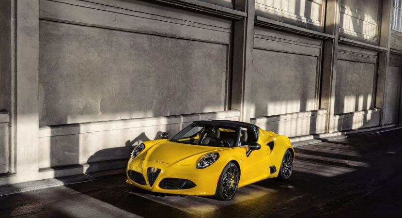 Alfa Romeo 4C Spider: A visceral experience