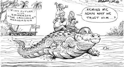 Has Mnangagwa had a Damascene conversion? Zimbabweans ponder the Crocodile's behaviour – Cathy Buckle