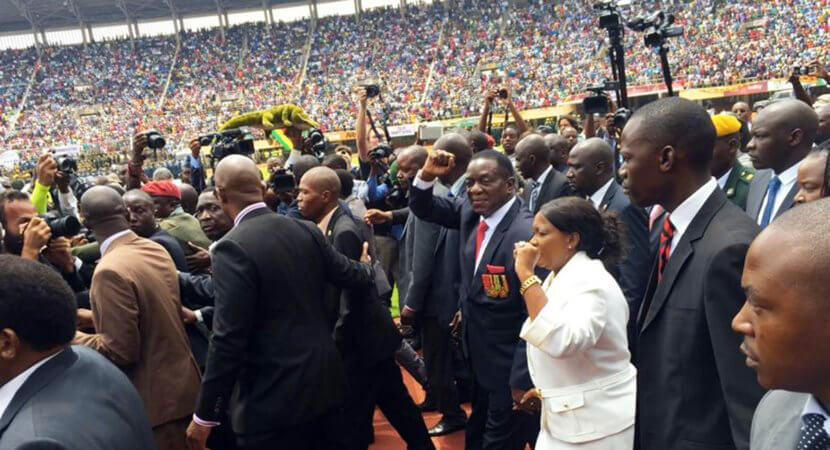 Best of 2017: What's next for Zim: Mnangagwa sees white farmers as key to revival — report