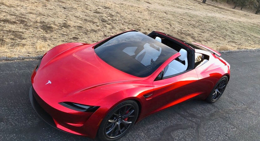 WATCH: Tesla Roadster's acceleration is like nothing you've ever seen