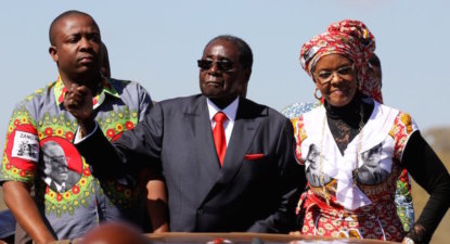 "Zimbabwe's military seizes power overnight, says Mugabe in ""safe"" place"