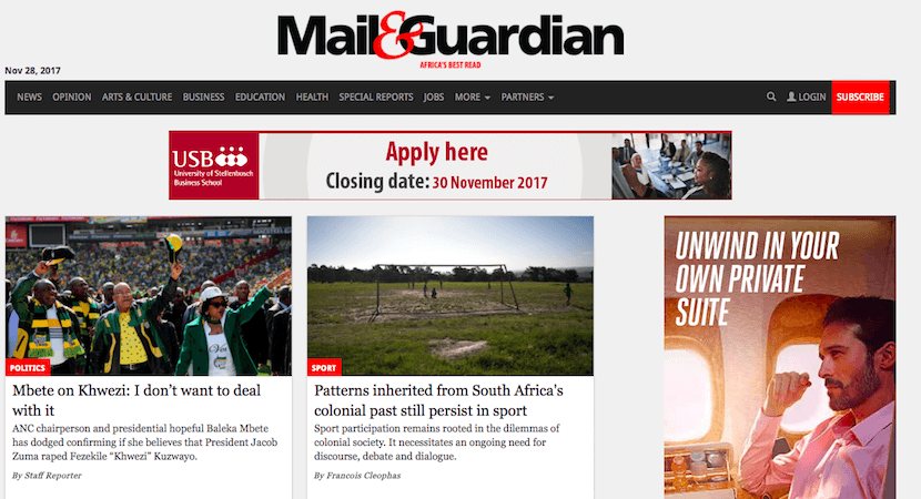 Much-respected Mail & Guardian to change ownership as iconic print brands die slow death