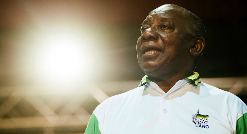 South African president, Cyril Ramaphosa