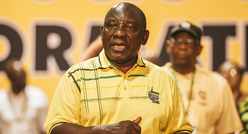 South Africa's ANC deciding whether to remove Zuma as President