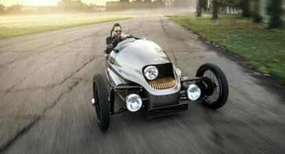 Morgan EV3: an electric 3 wheeler