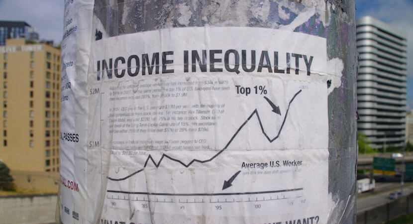 Chronic inequality: Top 10% of SA earners capture 66% of the national income.