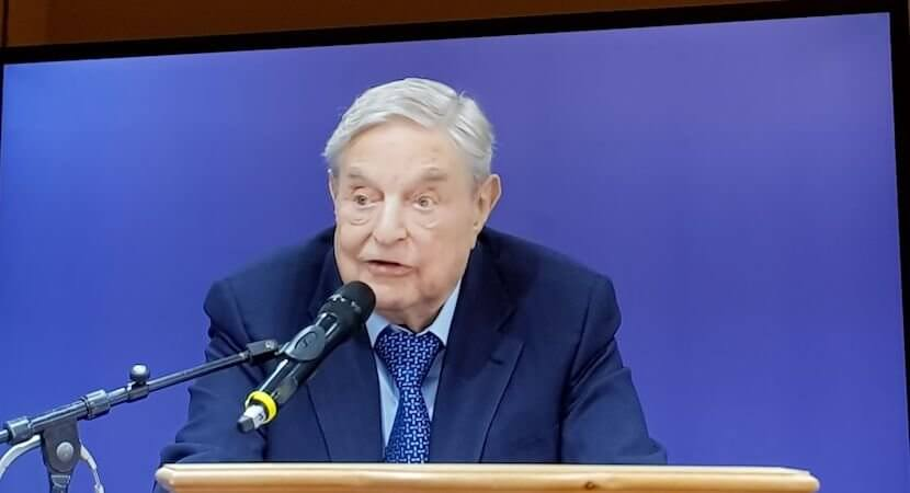 George Soros, nemesis of dictators and grandees, lets rip in Davos