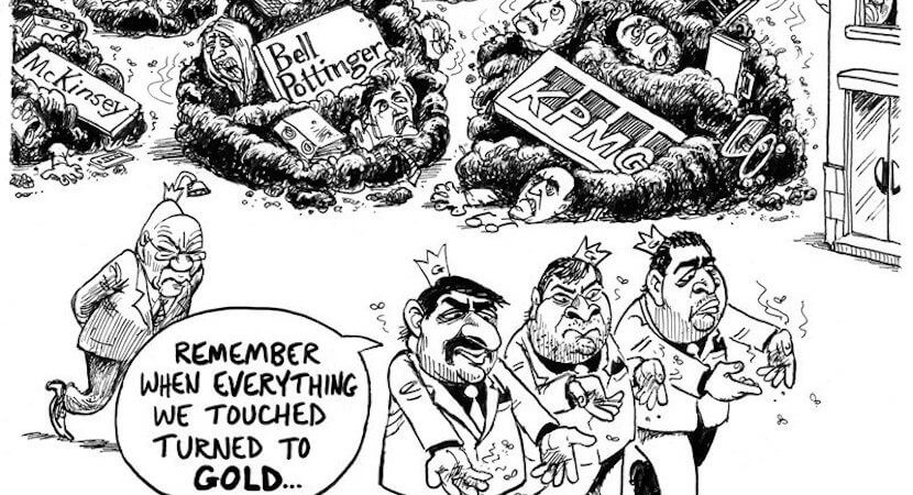 Corruption breakthrough! SA moves to take down global giant McKinsey, seize assets