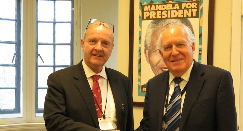 Paul O'Sullivan and comrade in arms Lord Peter Hain are after global law firm Hogan Lovells.