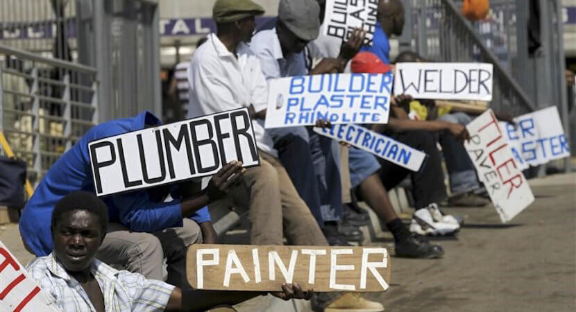 Ramareality: SA unemployment near 15 year high as factories cut jobs