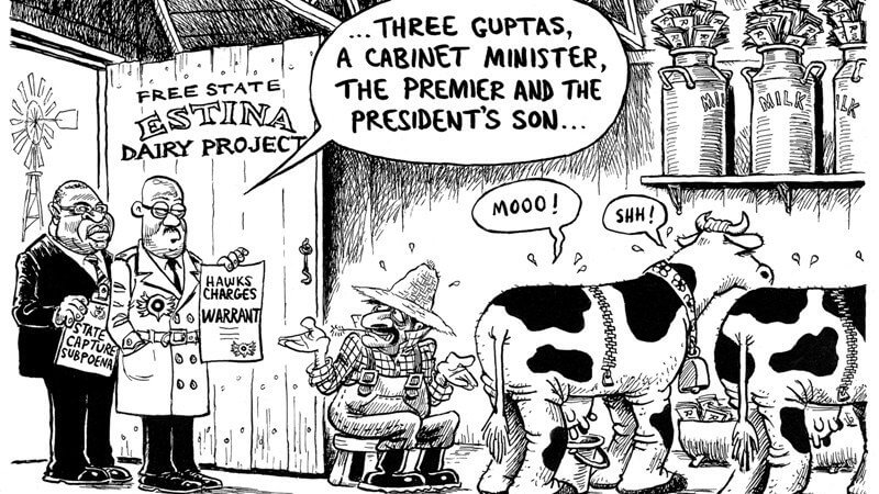 Estina Dairy Gupta scam; a unique view of the Zuptoid moral desert – Poplak