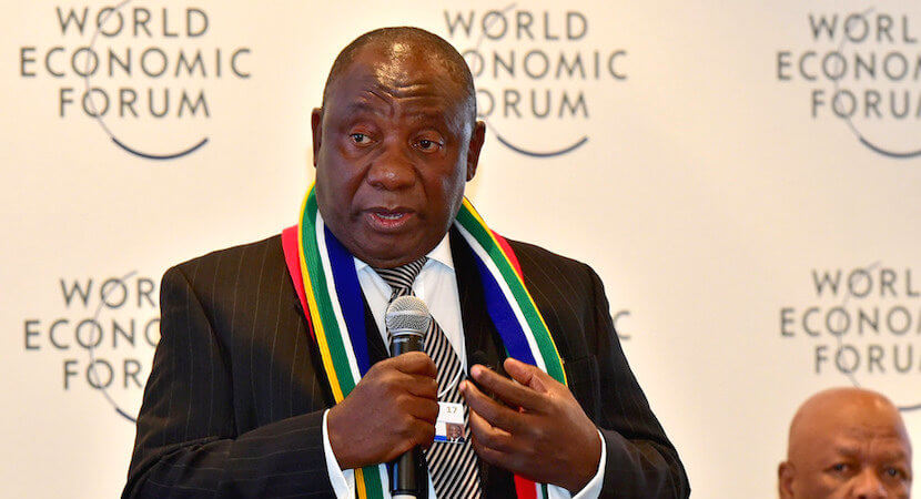 Cyril Ramaphosa to lead SA delegation at Davos for second year in a row