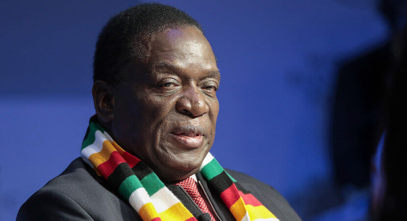 Scary things new Zimbabwe president thinks – about land grabs, mining, Mugabe