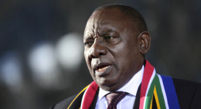 Cyril Ramaphosa's maiden State of the Nation address. A must read.