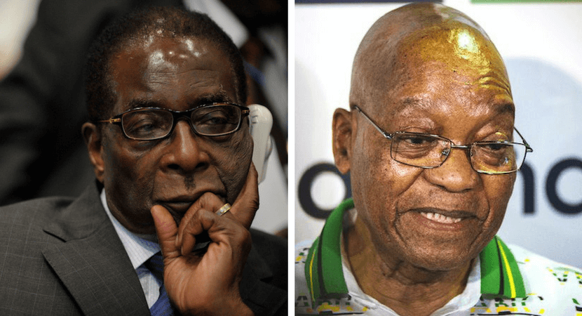 As with Mugabe, so with Zuma – nations don't forgive economically illiterate leaders