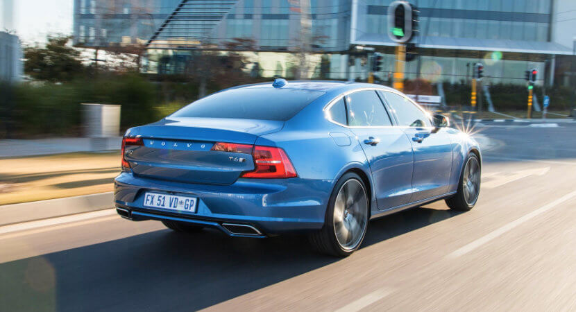 Volvo S90: Pokes a finger in the eye of its rivals