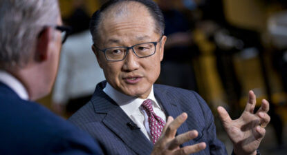 World Bank Chief Jim Yong Kim: Cryptocurrencies are like Ponzi Schemes