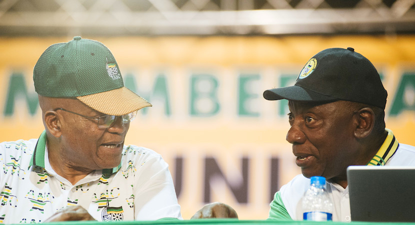 Zuma Ramaphosa