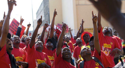 Job-creating renewables deal stalled by Numsa, Zuma-backer 'Transform RSA'