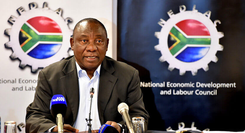 Here's what Ramaphosa's investment drive looks like from outside SA