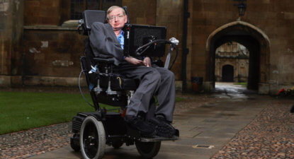 Stephen Hawking, physicist who reshaped cosmology, dies at 76