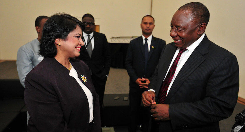 Mauritian president falls on her sword, sets example for SA politicians