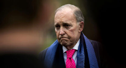 "Trump's ""Mini Me"", new US economic tsar Larry Kudlow, accuses China of thievery, cheating but says ""No Trade War"""