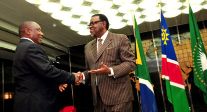 Cyril take note: Namibia scraps 25% BEE clause with a telling explanation