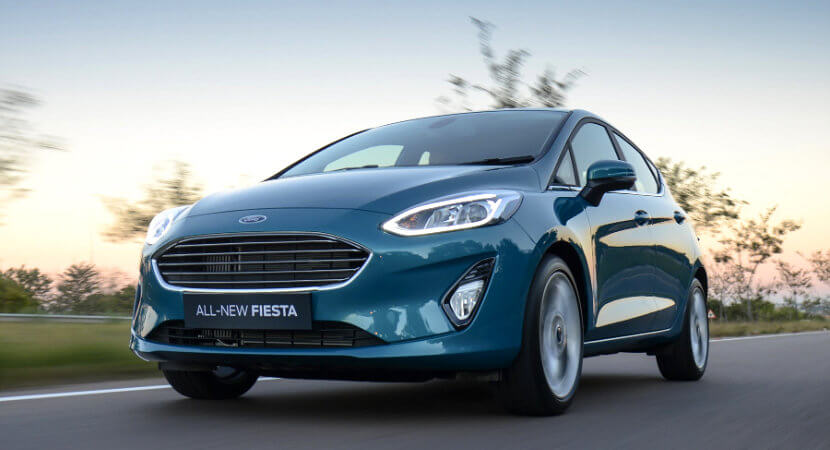 All new Ford Fiesta: begging the question, 'why buy a Polo?'