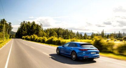 Porsche Panamera 4S Sport Turismo: practical speed