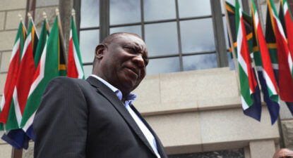 SA teeters on the edge, Ramaphosa needs to act now – FW de Klerk Foundation