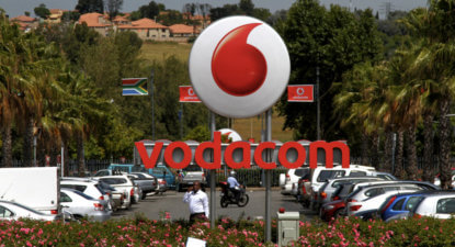 Vodacom shares extend decline to 17% year-to-date; despite improved earnings