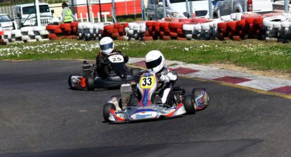 View from the visor: an introduction to kart racing
