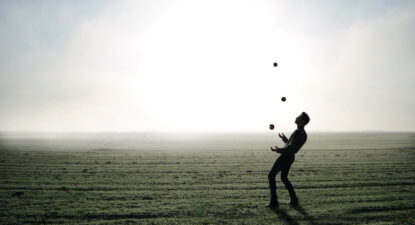 Juggling life's balls; be careful which one you drop