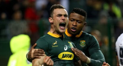 "Springboks were ""terrible"" says coach Rassie"
