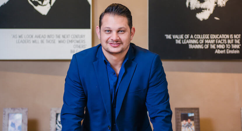 Bootstrapping entrepreneur Louis Pulzone: Crossing the transformation river one step at a time