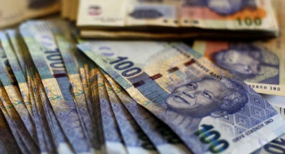 Rand weakens on Nene exit rumours