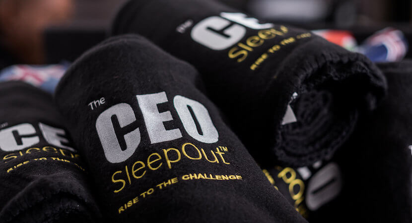 A suggestion from Herbert Spencer for CEO SleepOut cynics