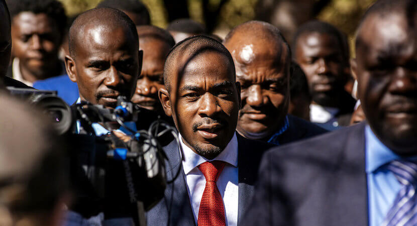 Biznews Confidential: Let's hope the real Nelson Chamisa gets the chance to stand up.