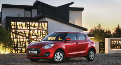 Suzuki Swift refreshes small hatch battle