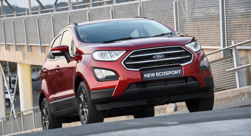 Ford EcoSport: looking to continue its dominance of the compact crossovers
