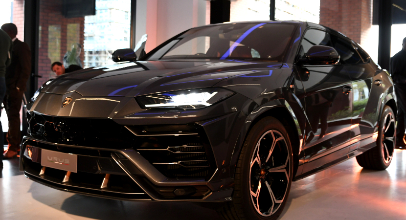 Lamborghini Urus charges into the South African luxury SUV